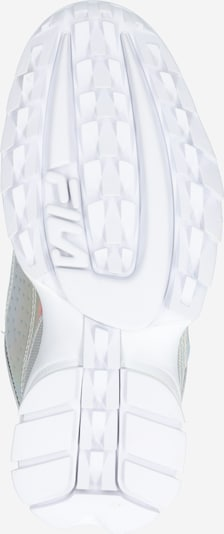 FILA Sneaker 'Disruptor' in silber: Ansicht von unten
