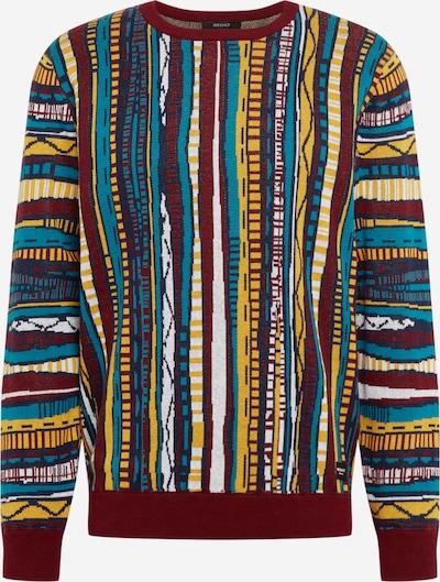 Iriedaily Sweter 'Theodore' w kolorze granatowy / błękitny / żółty / czerwone wino / białym, Podgląd produktu