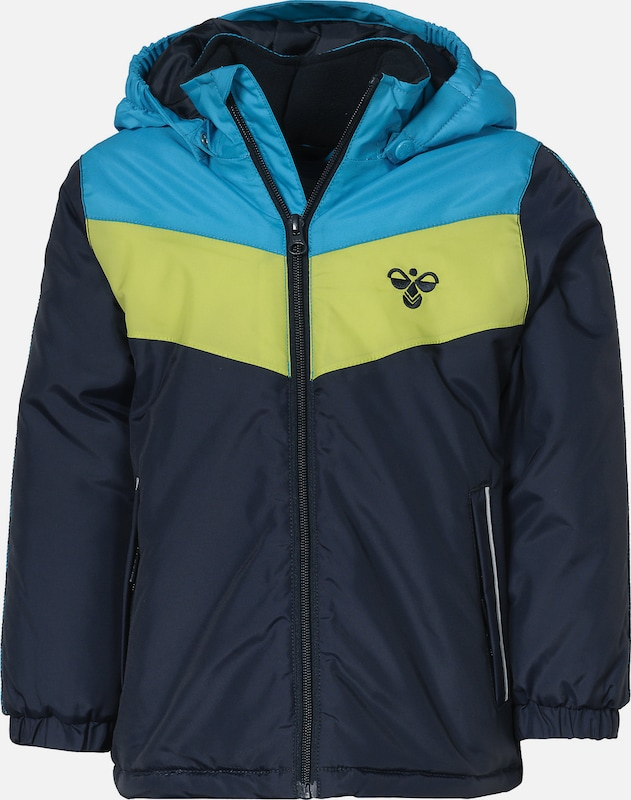 hochwertiges Design neue Version üppiges Design Hummel Outdoorjacke 'STAALE' in blau / türkis / gelb | ABOUT YOU