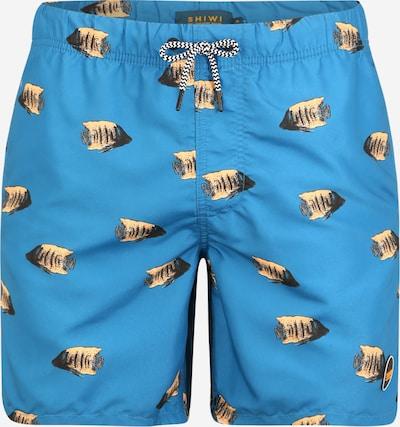Shiwi Plavecké šortky 'moonfish' - modré: Pohľad spredu