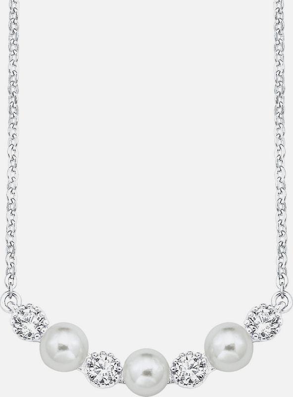 Collier Damor Avec Des Pendentifs Avec De La Zircone Cubique Et Des Perles De Culture Deau Douce, »e106 / 10 538855«
