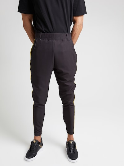 SikSilk Nohavice 'siksilk fitted smart tape jogger pant' - čierna, Model/-ka