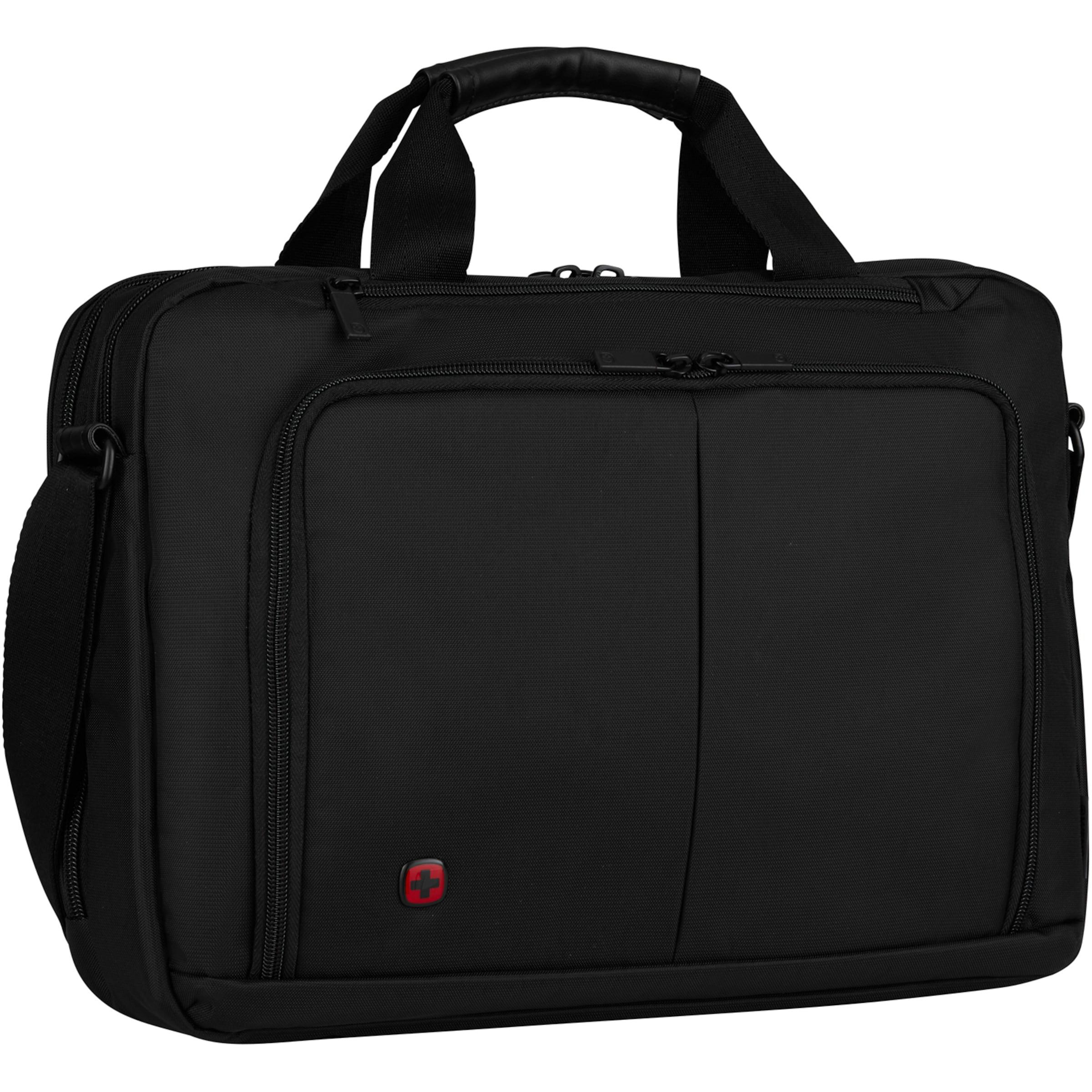 Sac Portable 'source' D'ordinateur Wenger En Noir OkXwiZuTP
