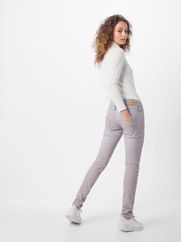 'pitch Blanc Herrlicher Pantalon En Slim' BleuMerlot E9WDHY2Ibe