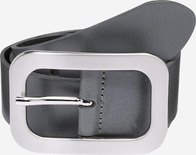 VANZETTI Ledergürtel 4.0cm in dunkelgrau, Produktansicht