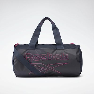 REEBOK Sporttasche in dunkelblau / pink, Produktansicht