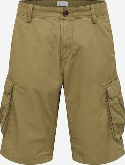 ESPRIT Kargo hlače | oliva barva, Prikaz izdelka
