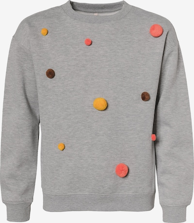 KIDS ONLY Sweatshirt 'KONTEDDY' in grau, Produktansicht