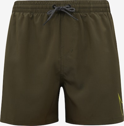 Nike Swim Badeshorts 'NIKE PERFORATED SWOOSH' in oliv, Produktansicht