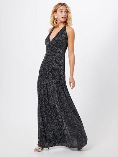 Carolina Cavour Společenské šaty 'long dress' - stříbrně šedá / tmavě šedá, Model/ka