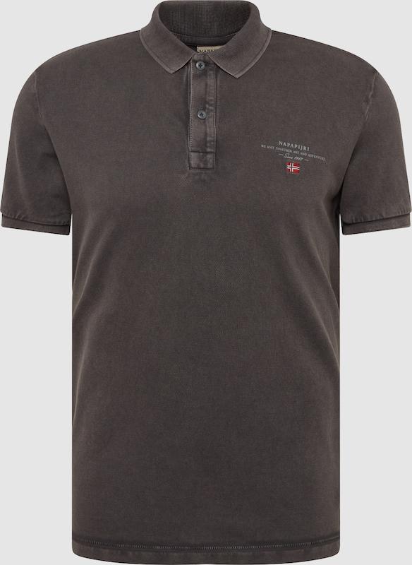 NAPAPIJRI Shirt 'Elbas 2' in dunkelgrau  Neu in diesem Quartal