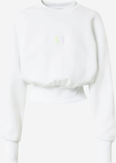Calvin Klein Jeans Sweatshirt in de kleur Wit, Productweergave