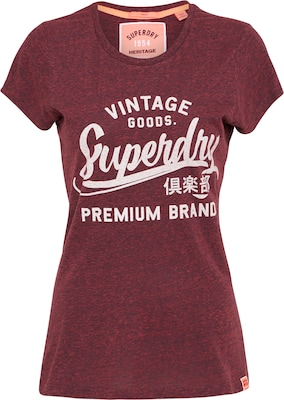 Superdry T Shirt 'PREMIUM BRAND ENTRY TEE'