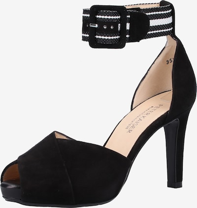 PETER KAISER Sandale in schwarz / weiß, Produktansicht
