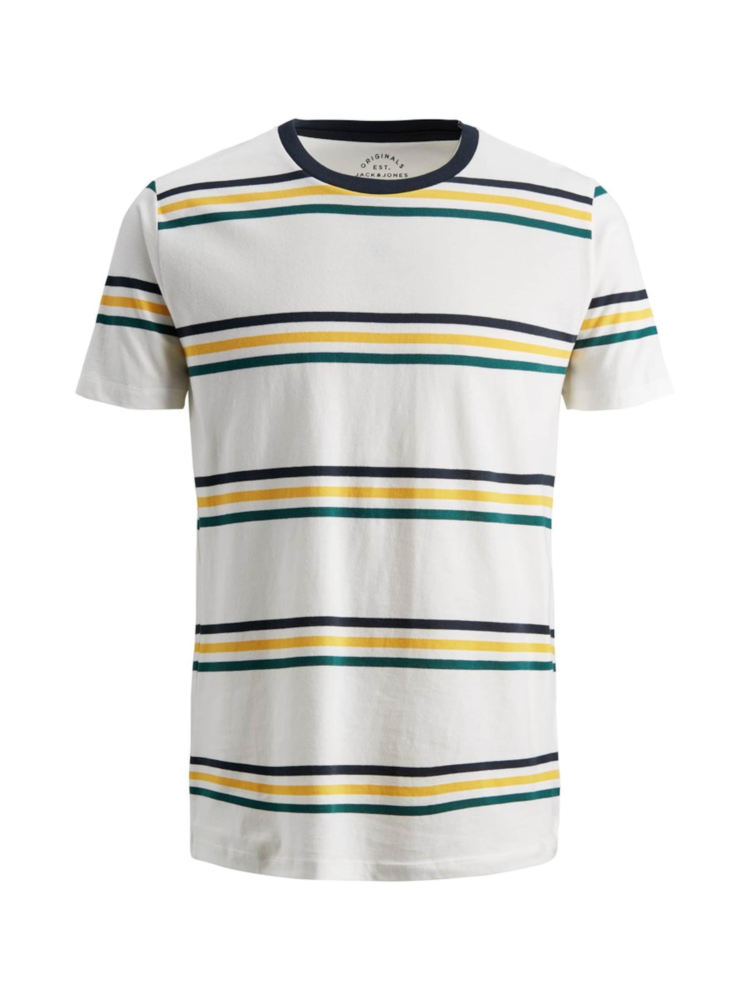 En JaunePétrole Jones shirt Blanc Noir T Jackamp; rdCtxoshQB