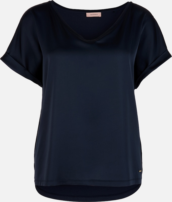 TRIANGLE T-Shirt in navy, Produktansicht