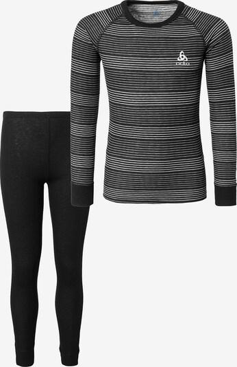 ODLO Wäscheset in grau / schwarz, Produktansicht