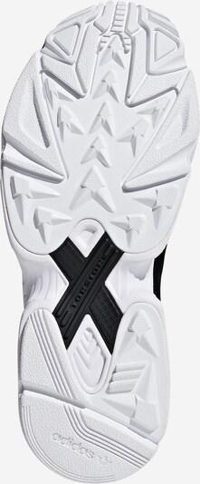 ADIDAS ORIGINALS Sneaker 'FALCON' in schwarz: Ansicht von unten