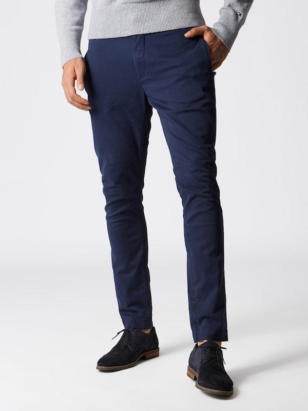Essential Pantalon Chino' En Tommy Bleu Chino Jeans Foncé Slim 'tjm 54AjLR3