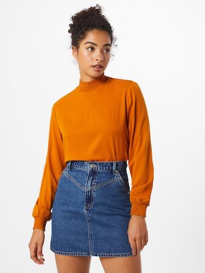 VILA Shirt 'Dania' in orange, Modelansicht