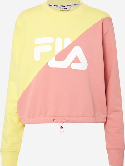 FILA Sweatshirt 'BANJI' in gelb / rosa, Produktansicht