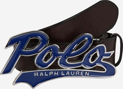 POLO RALPH LAUREN Riem 'ENAMEL/SMTH LTHR-SWOOSH BLT-CSL-SML' in de kleur Bruin, Productweergave