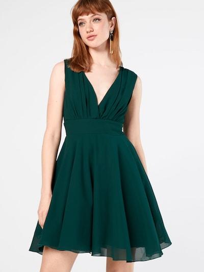 TFNC Kleid mit Tüllrock 'Nordi' in grün, Modelansicht
