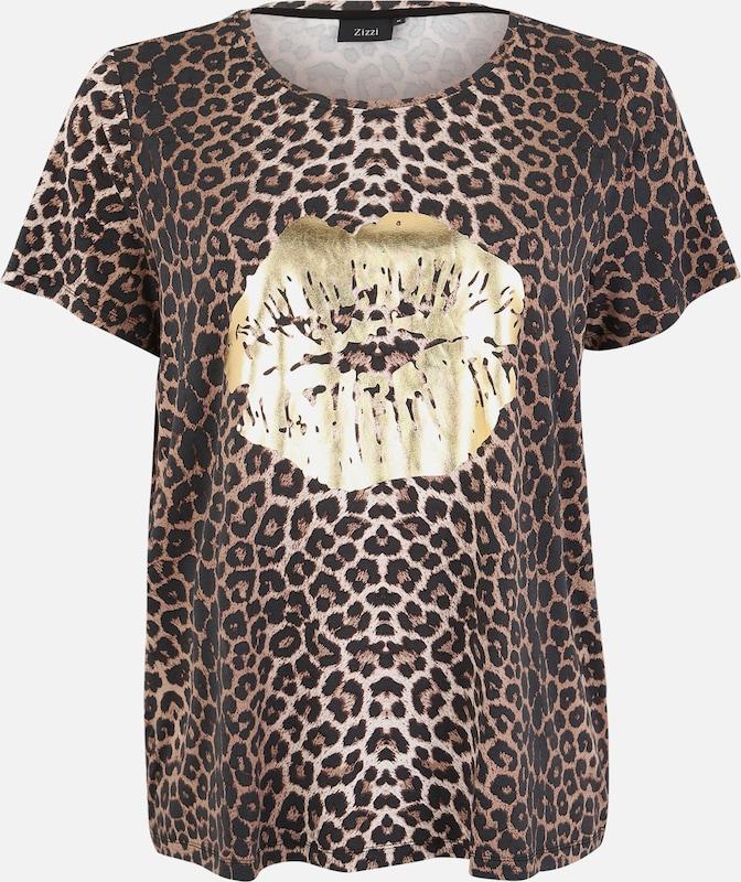Zizzi 'mstacy' Or En shirt MarronJaune T pGSUMqzV