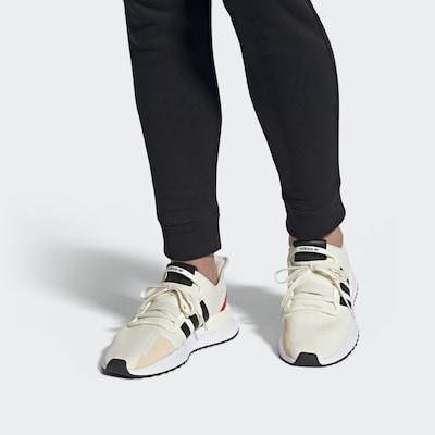 ADIDAS ORIGINALS Sneaker 'U_Path Run' in rot / schwarz / weiß: Frontalansicht