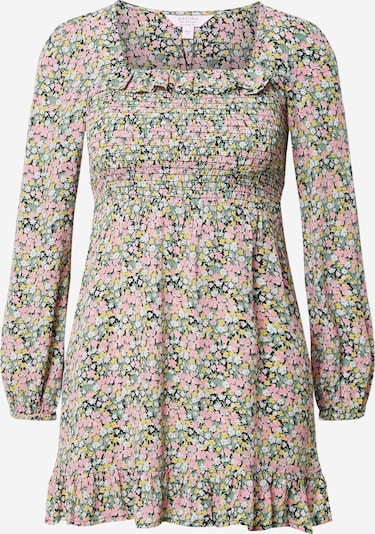 Miss Selfridge (Petite) Kleid 'ALICE' in gelb / mint / pink / schwarz / weiß, Produktansicht