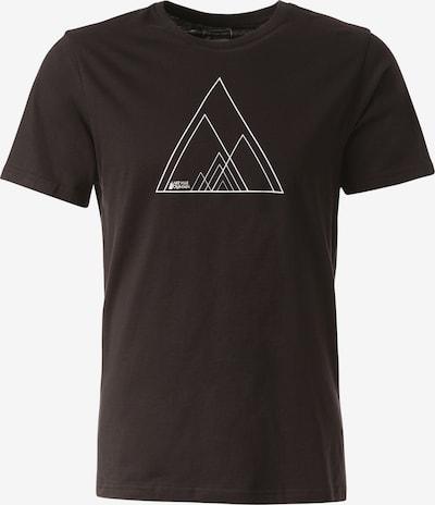 Lakeville Mountain T-Shirt 'Sino' in schwarz / weiß, Produktansicht
