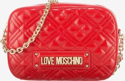Geantă de umăr Love Moschino pe auriu / roșu, Vizualizare produs