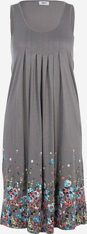 BEACH TIME Plážové šaty - Sivá