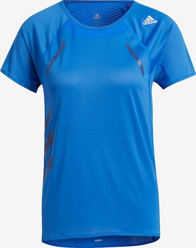ADIDAS PERFORMANCE Functioneel shirt in de kleur Blauw / Grijs / Wit, Productweergave