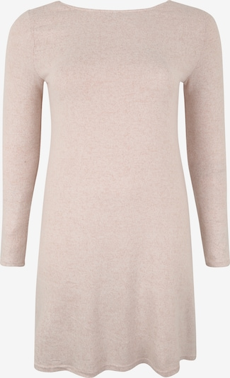 ONLY Carmakoma Robes en maille 'INDIA' en beige / rose, Vue avec produit