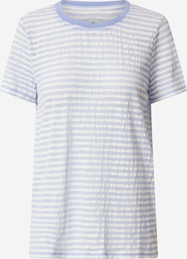 TOM TAILOR T-Shirt in blau / offwhite, Produktansicht