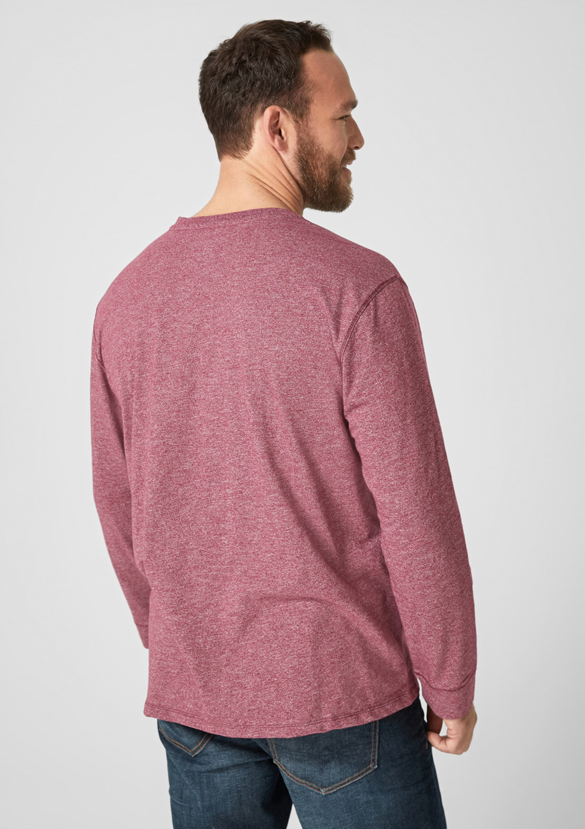 oliver Shirt S S oliver In PinkWeiß uK1lc3JTF5