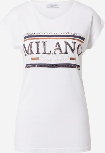 Sublevel Koszulka w kolorze białym: Widok z przodu