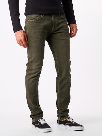 Džinsai 'STANLEY' iš Pepe Jeans , spalva - tamsiai žalia: Vaizdas iš priekio