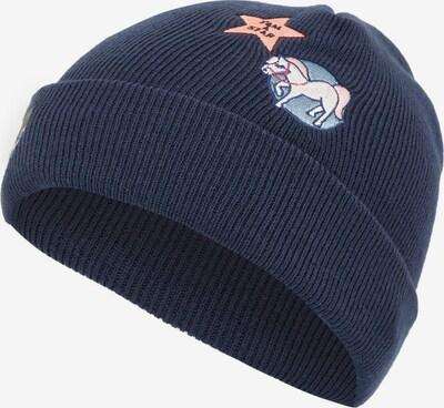 NAME IT Mütze in ultramarinblau / rosa / silber, Produktansicht