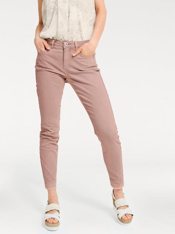 B.C. Best Connections by heine Skinny-Jeans mit offenem Beinabschluss