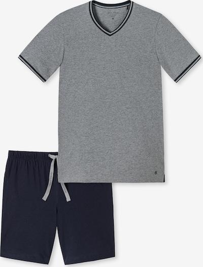 Marc O'Polo Pyjama ' Lounge ' in grau / schwarz, Produktansicht