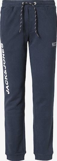 Jack & Jones Junior Jogginghose in blau / weiß, Produktansicht