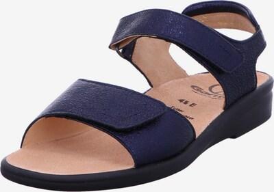 Ganter Sandalen in dunkelblau, Produktansicht