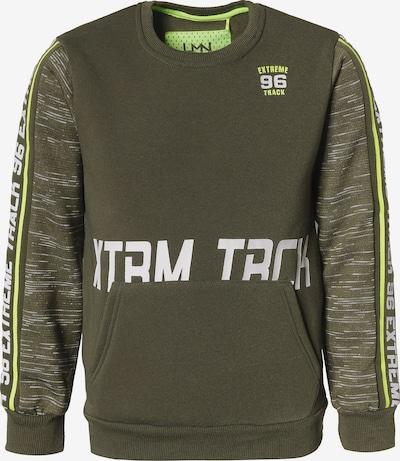 LEMON BERET Sweatshirt in khaki / weiß, Produktansicht