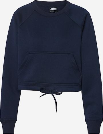 Urban Classics Sweatshirt in Blau