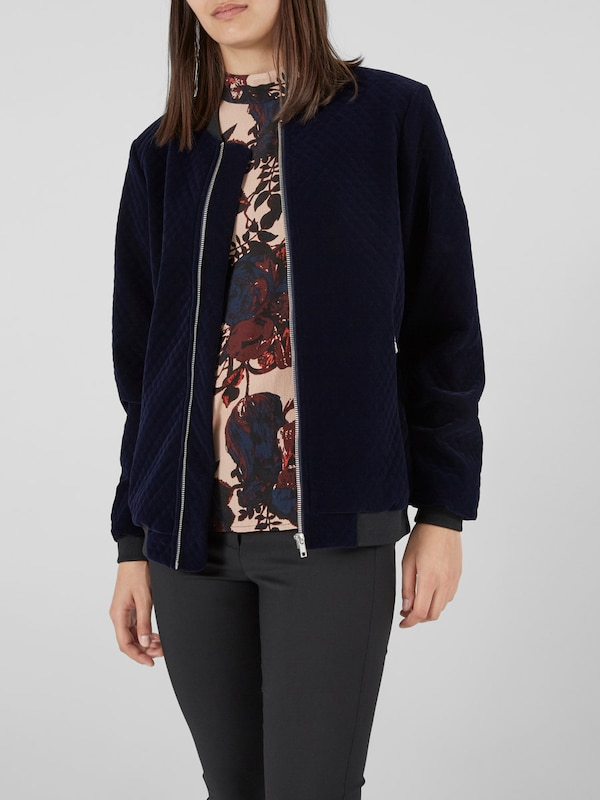 Y.A.S Samt-Bomber-Jacke