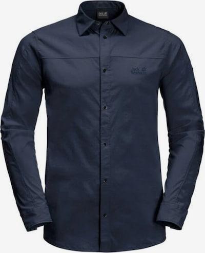 JACK WOLFSKIN Hemd 'Kenovo' in nachtblau, Produktansicht