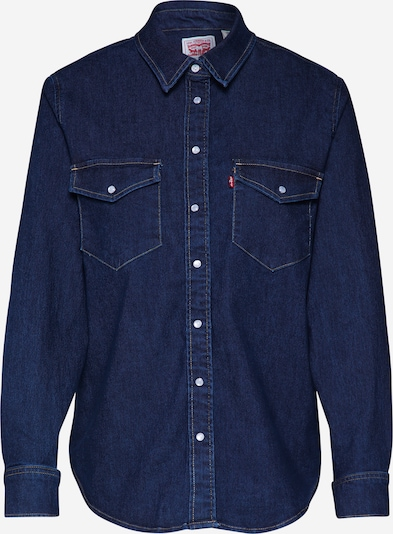 LEVI'S Hemd 'Essential Western' in blue denim, Produktansicht