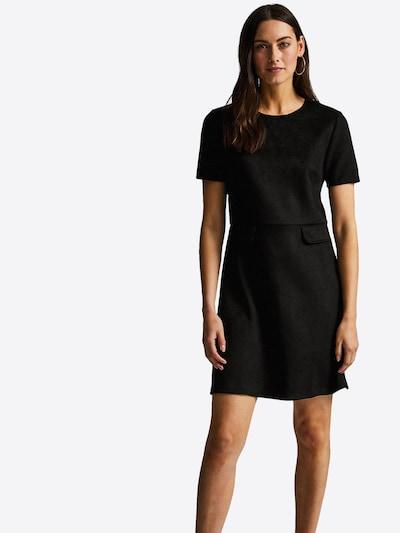 Trumpa kokteilinė suknelė 'BLK SUEDE PCKT SHIFT' iš Dorothy Perkins , spalva - juoda: Vaizdas iš priekio